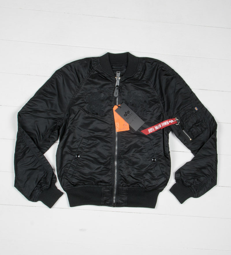 MA-1 Souvenir Jacket Shinto (Black)
