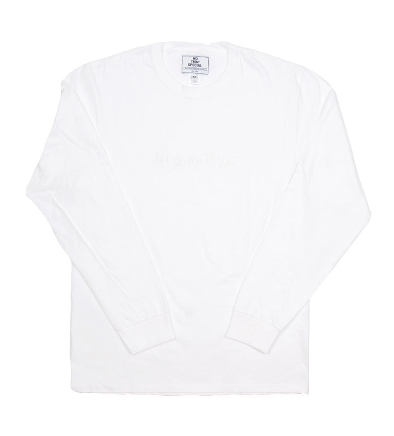 Illegally Legal L/S Tee (White)