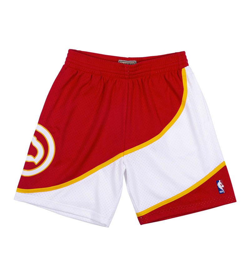 Atlanta Hawks Swingman Shorts (Scarlet)