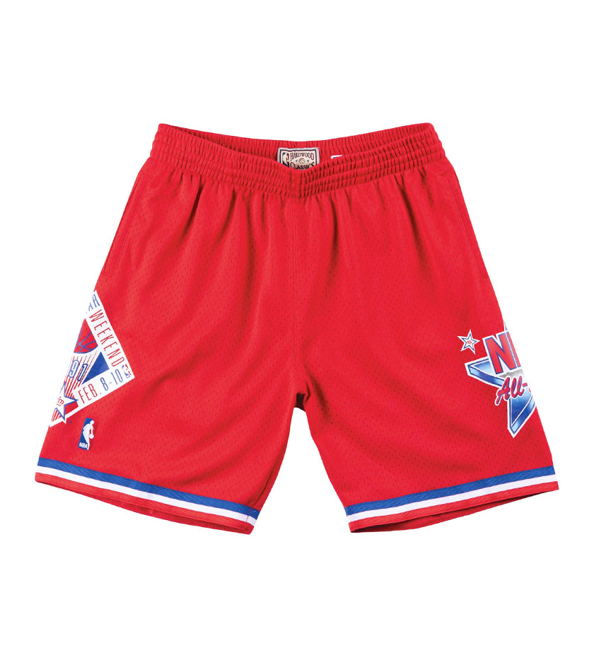 NBA All-Star West Swingman Shorts (Red)