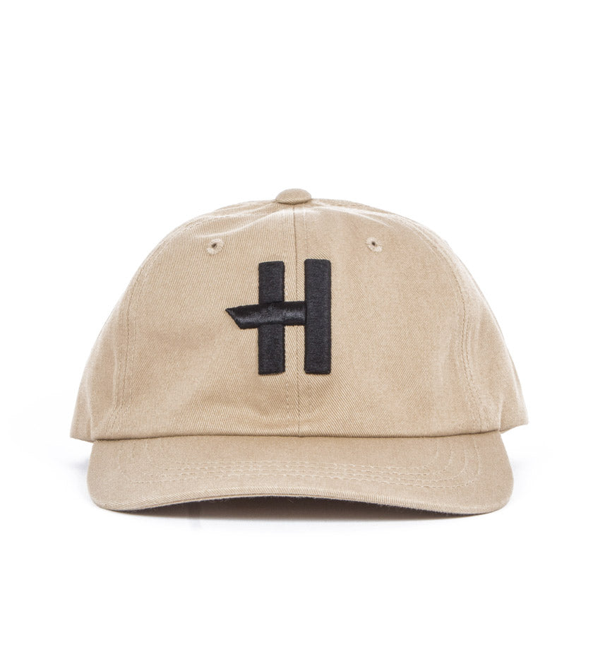 Stock H Dad Hat (Khaki)