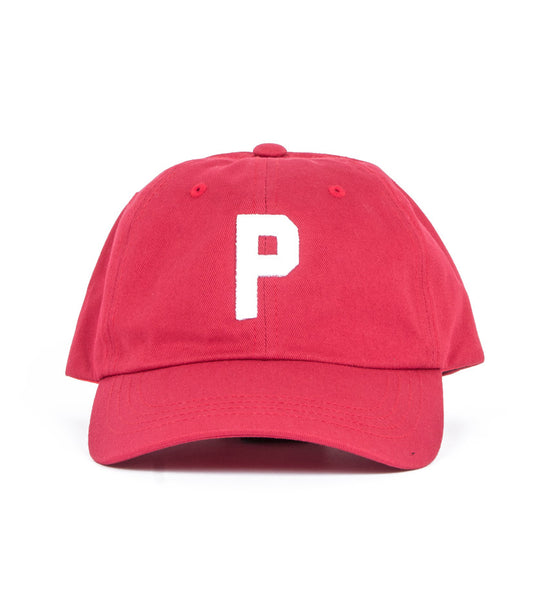 Stock P Dad Hat (Cranberry)