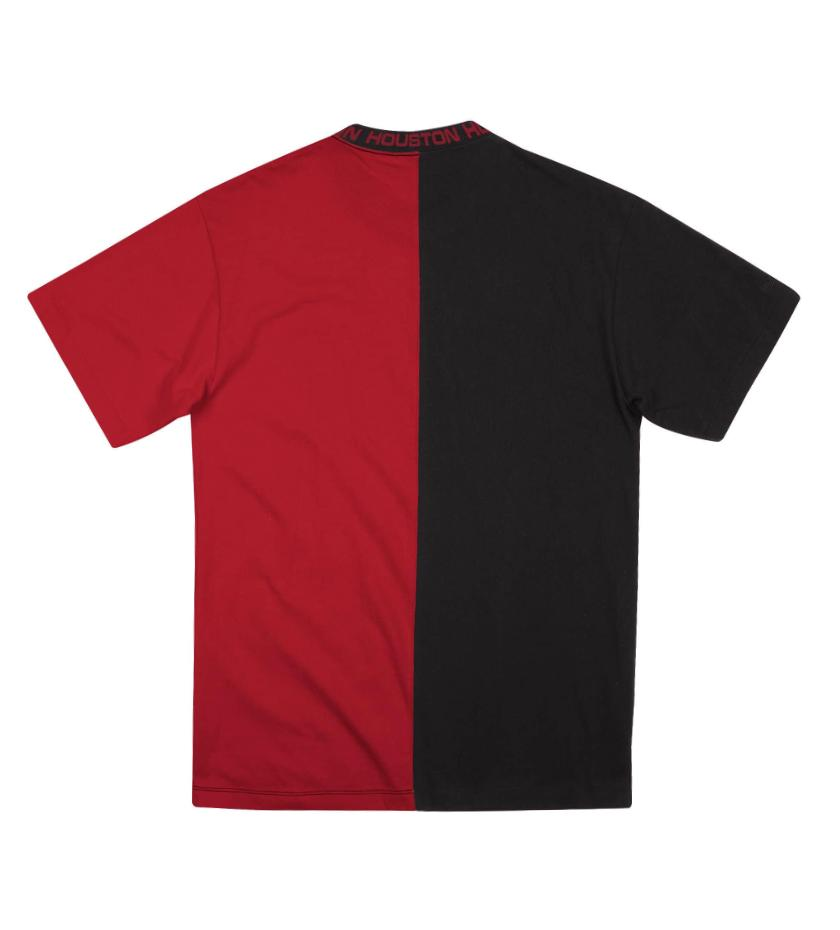 Houston Rockets Split Color Top (Black/Red)