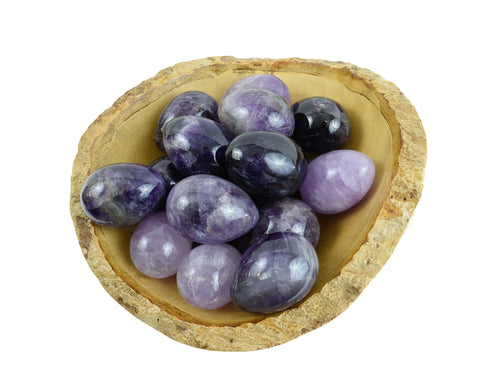 Amethyst Yoni Eggs - GIA Certified
