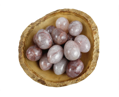Fire Quartz Yoni Eggs - GIA Certified