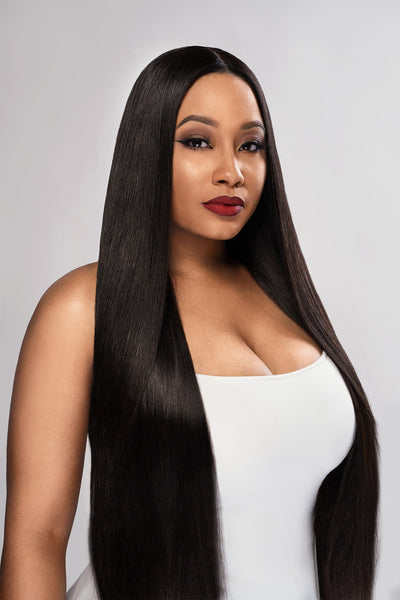 Pure Peruvian Straight Bundle Deal w closure