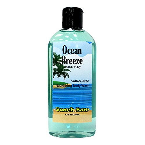 Ocean Breeze Sulfate-Free Body Wash - 8.5 oz