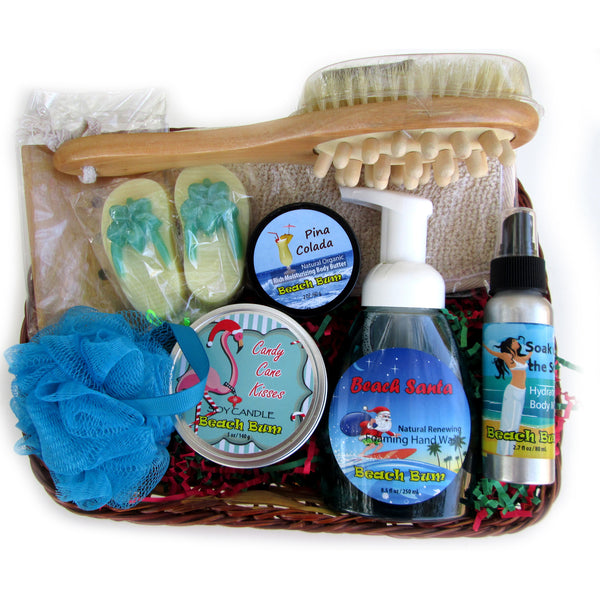 Beachy Basket of Bath and Bubbles!
