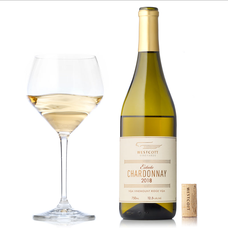 2018 Estate Chardonnay - Westcott Wines