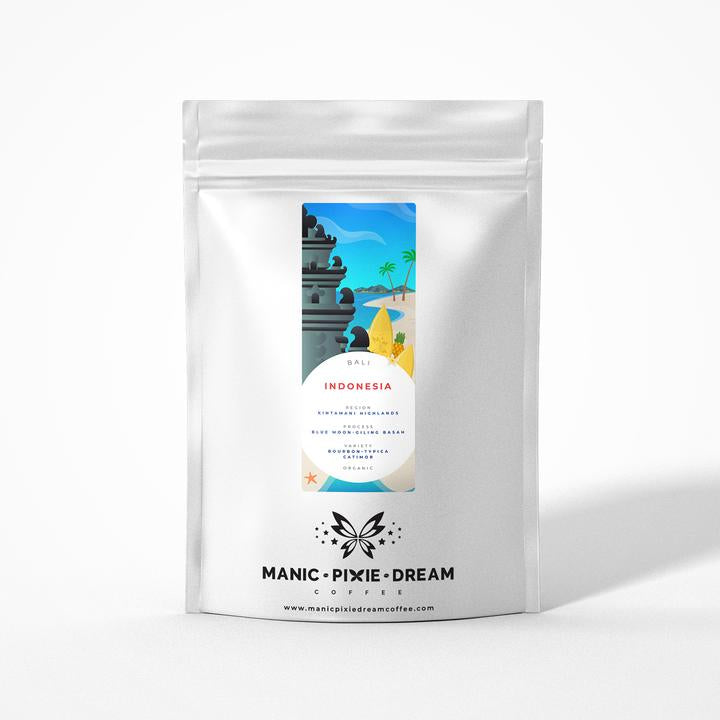 Medium Roast  - Manic Pixie Coffee - Westcott Wines