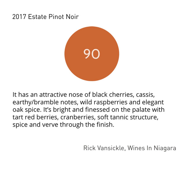 2017 Estate Pinot Noir