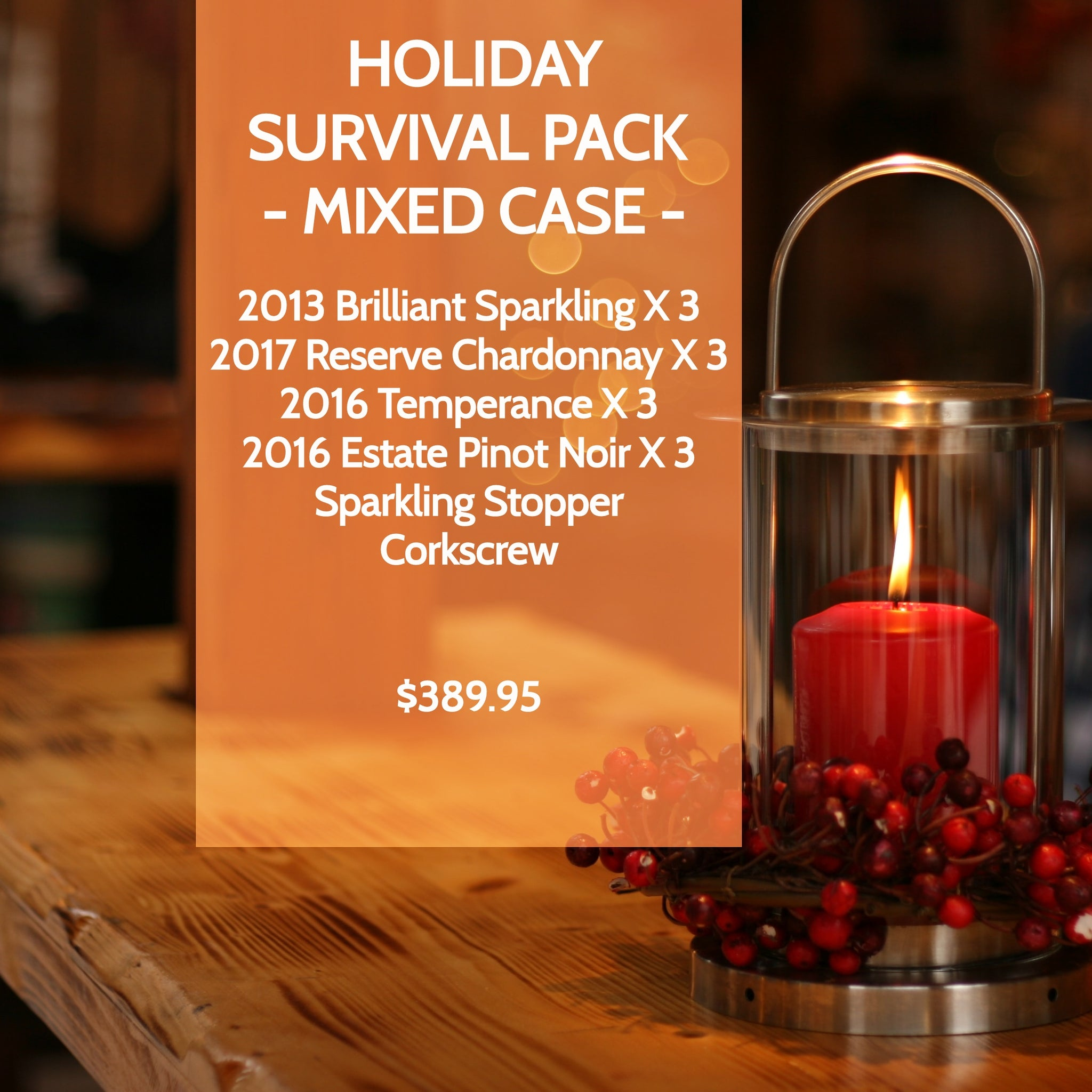 Holiday Survival Pack - Mixed Case - Westcott Wines