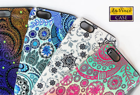 Paisley iPhone Case Designs from Da Vinci Case