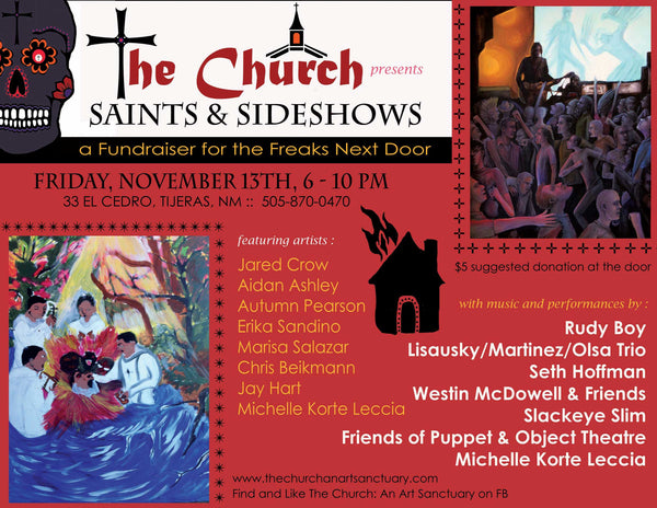 Saints and sideshows featuring the artwork of Christopher Beikmann