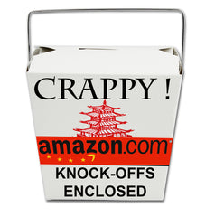 Amazon.com counterfeit products from china - artists unite - stop copyright infringement