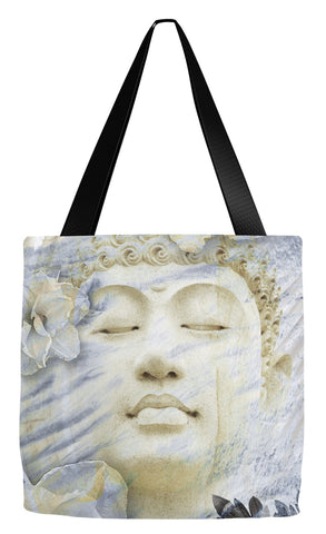 Ethereal Buddha Art Tote Bag - Inner Infinity - Tote Bag - Fusion Idol Arts - New Mexico Artist Christopher Beikmann