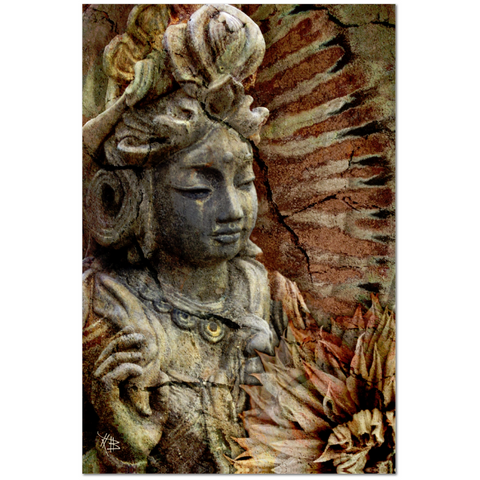 Kwan Yin Goddess Art Canvas - Art of Memory - Fusion Idol - Art and Gifts by Artist Christopher Beikmann - 1