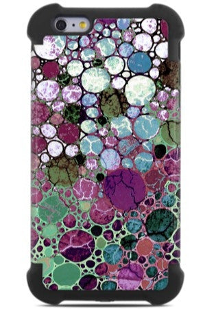 Berry Bubbles iPhone 6 Plus - 6s Plus Case - Abstract Art iPhone 6 Plus SUPER BUMPER Case - iPhone 6 6s Plus SUPER BUMPER Case - Fusion Idol Arts - New Mexico Artist Christopher Beikmann