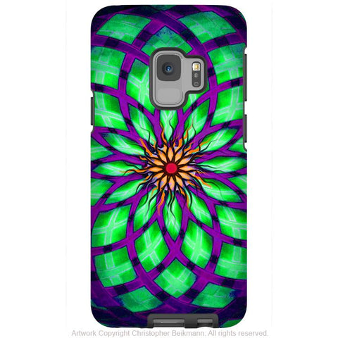 Kalotuscope - Galaxy S9 / S9 Plus / Note 9 Tough Case - Dual Layer Protection for Samsung S9 - Premium Art Case - Galaxy S9 / S9+ / Note 9 - Fusion Idol Arts - New Mexico Artist Christopher Beikmann