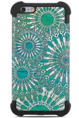 Ocean Lace iPhone 6 Plus - 6s Plus Case - Abstract Sea Urchin Art iPhone 6 Plus SUPER BUMPER Case - iPhone 6 6s Plus SUPER BUMPER Case - Fusion Idol Arts - New Mexico Artist Christopher Beikmann