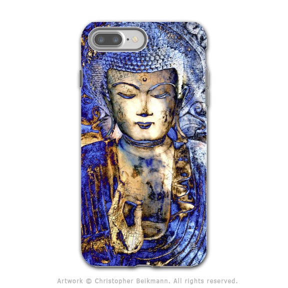 Blue Buddha Art - Artistic iPhone 7 PLUS - 7s PLUS Tough Case - Dual Layer Protection - Inner Guidance - iPhone 7 Plus Tough Case - Fusion Idol Arts - New Mexico Artist Christopher Beikmann