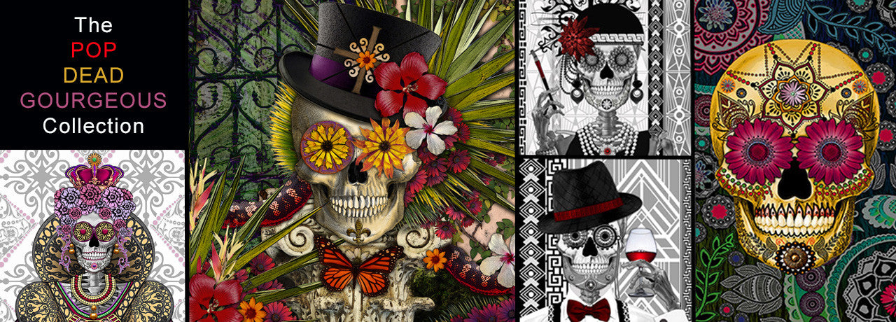 Sugar Skull artwork by artist Christopher Beikmann