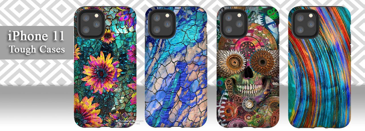 Artistic iPhone 11 Cases by Christopher Beikmann