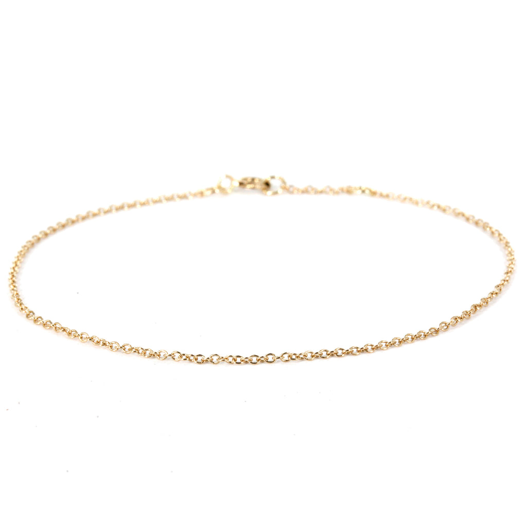 Thin Cable Chain Bracelet