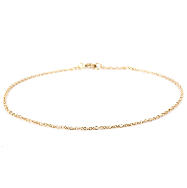 1mm Cable Chain Bracelet