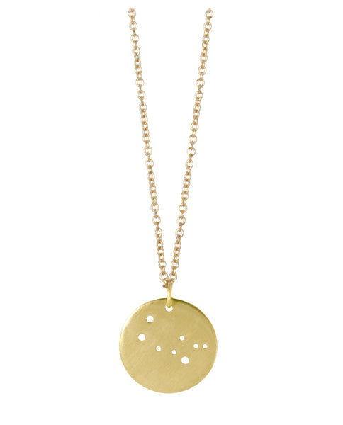Gemini Zodiac Constellation Necklace
