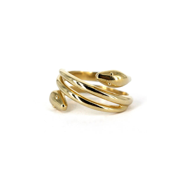 Heads / Tails Snake Ring