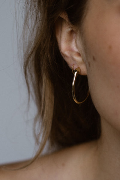 Oleva Teeny Tiny Hoop Earrings