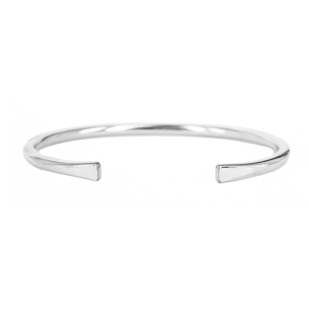 Aly Rounded Heavy Weight Cuff Bracelet