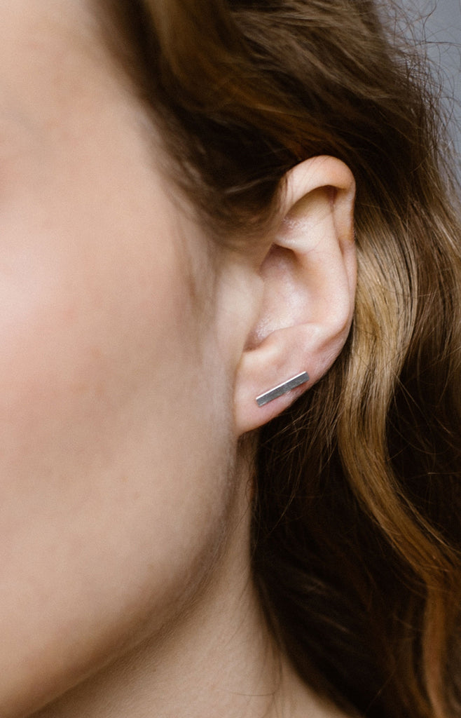 Bar Stud Earring