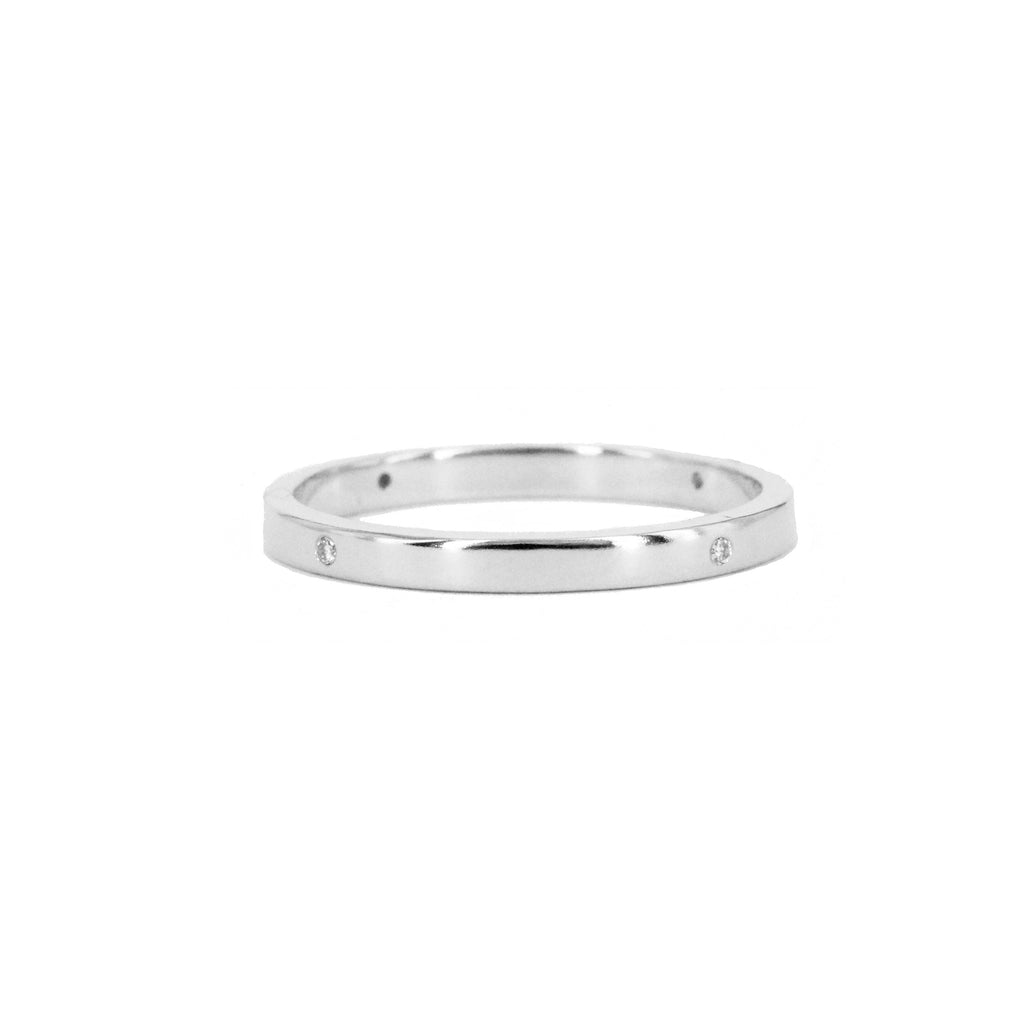 Compass Points Diamond Band