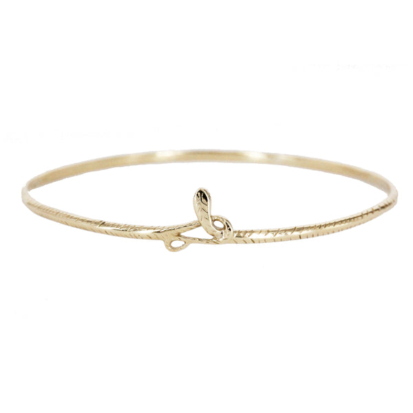 Serpent Bangle Bracelet