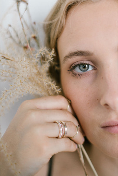 Juanita, 14kt Gold Filled Round Wire Ring