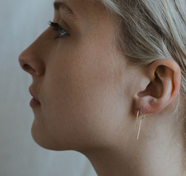 Lu, Threader Earrings