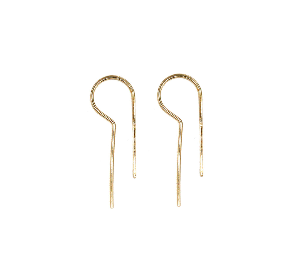 Lu Small Threader Earrings