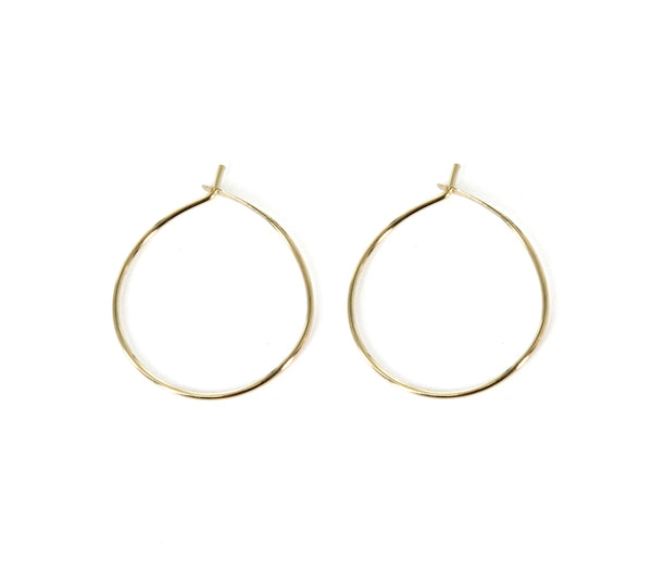 20mm Diameter Hoop Earrings