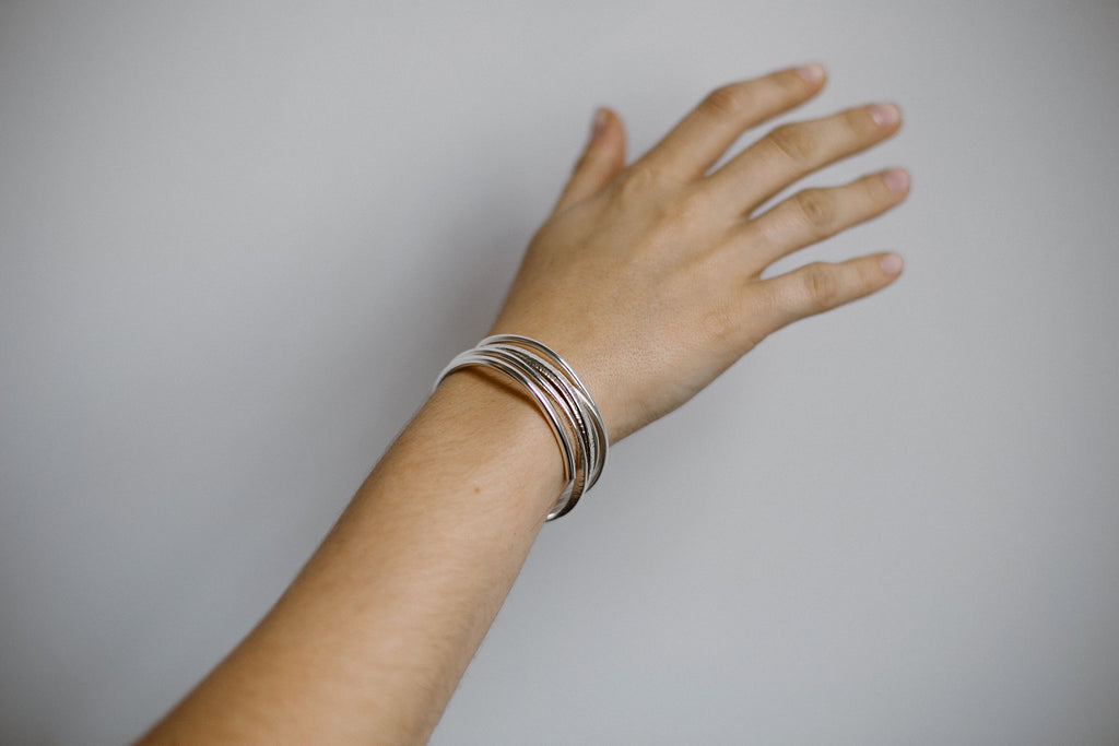 Marianna, 14KT Gold Filled or Sterling Silver Cuff Bracelet