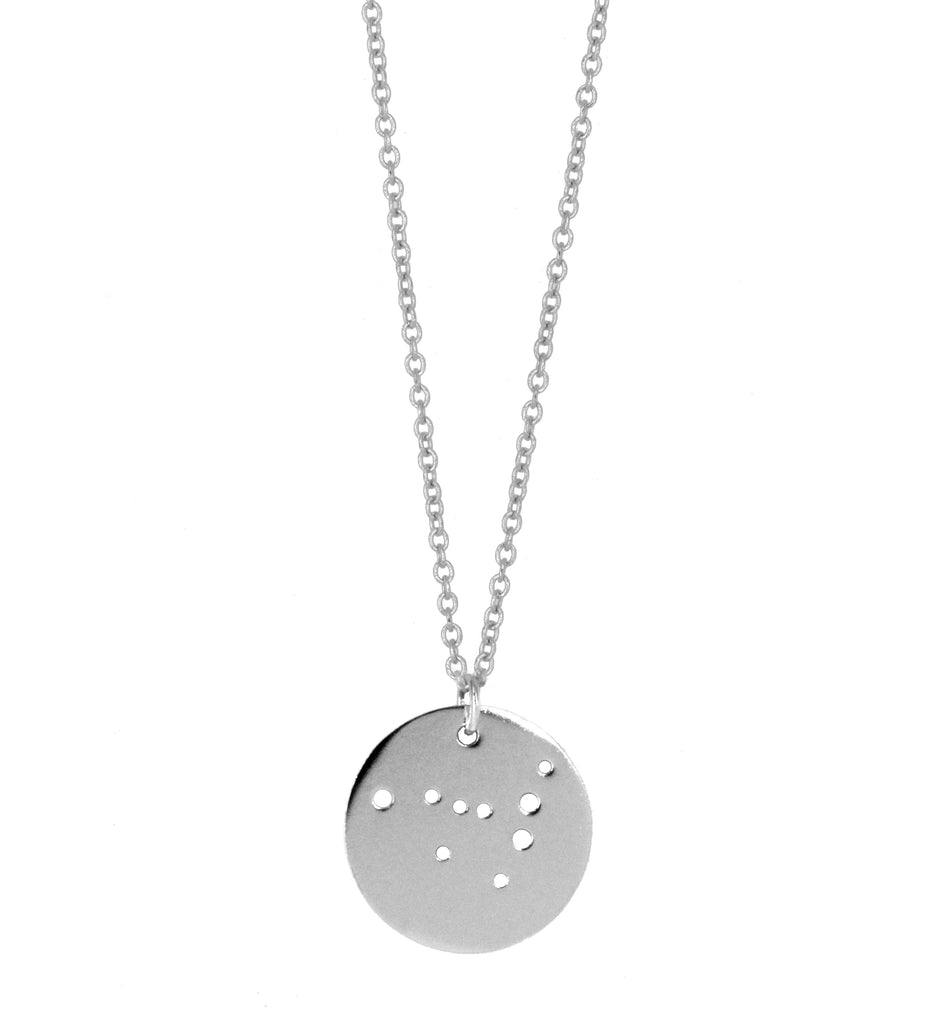 Capricorn Zodiac Constellation Necklace
