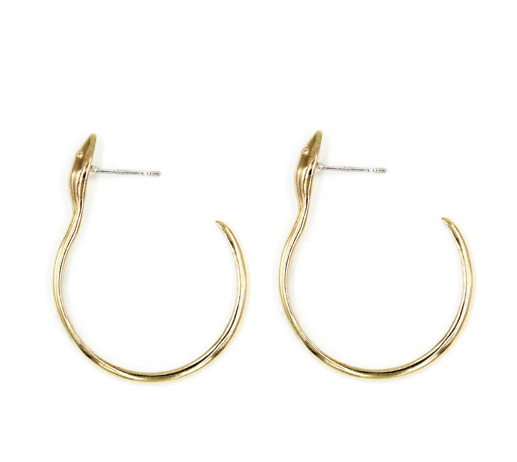 Snake Drop Earrings