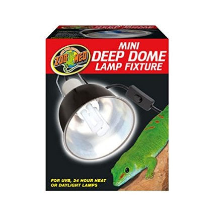 mini deep dome fixture