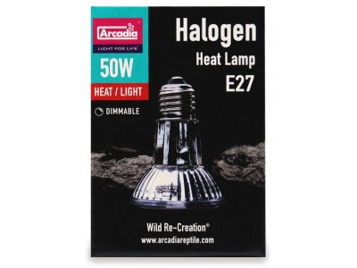 Lighting - Arcadia 50 watt halogen