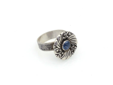 Ring - Blue Swirl Ring