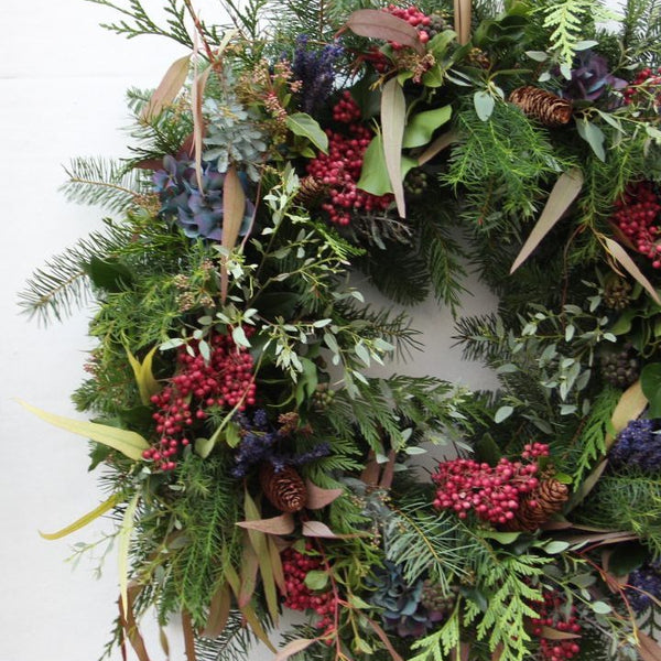 THANKSGIVING WREATH WORKSHOP