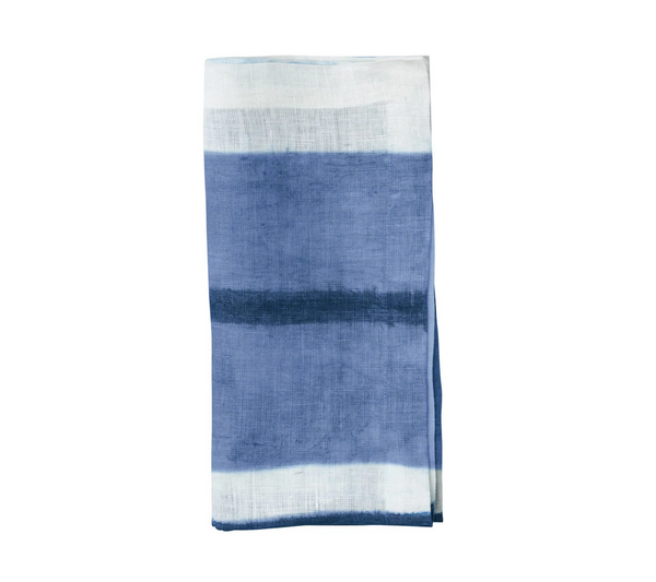 Horizon Napkin, White & Blue, Set of 4