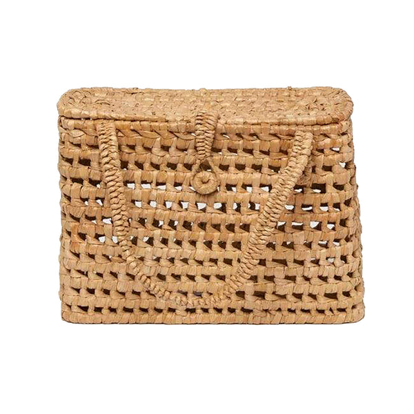 Pigeon & Poodle Kosta Woven Seagrass Basket, Natural