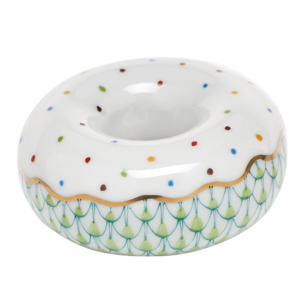Herend Donut, Key Lime Green